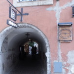 Medieval passageways.