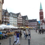 Romerberg city centre.