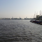The Elbe River.