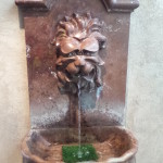 I drank from this fountain.
