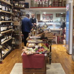 Wine & cheese shop...free samples!