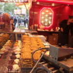 Fair food in Leidseplein.