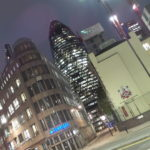 The iconic Gherkin.