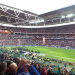 The NFL in Wembley.