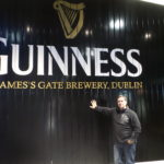 At Guinness.