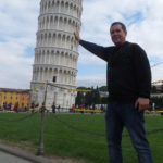 The leaning tower.