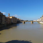 From the Ponte Vecchio bridge.