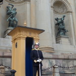 Guarding the Royal Swedes.