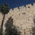 Back outside of Old Jerusalem.