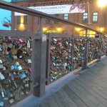 Lots of locks of love.