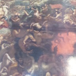 The Last Judgment painting from 1696.